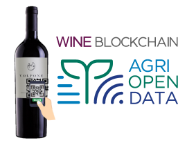 Wine Blockchain by AgriOpenData